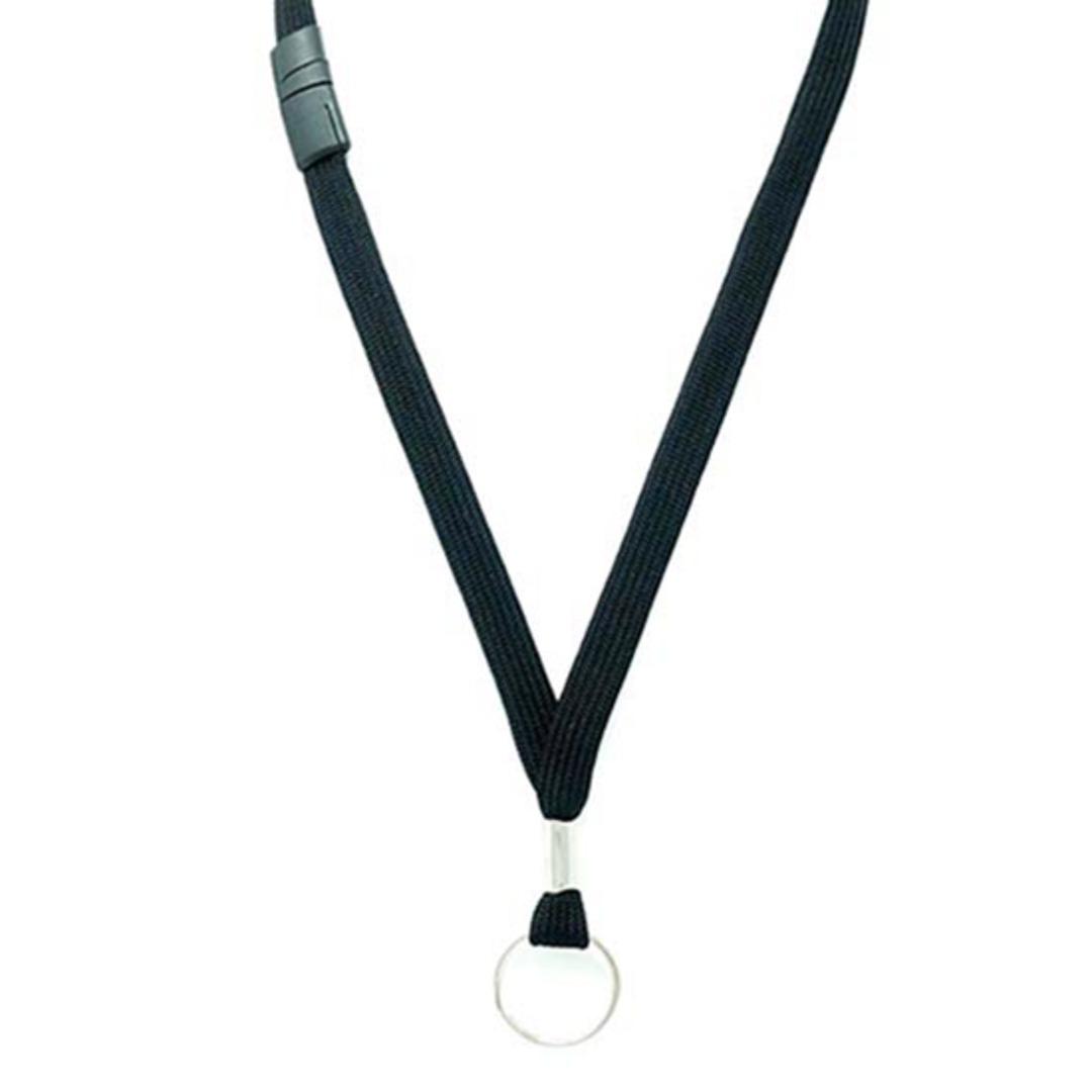 12 mm Black Breakaway  Key Ring Parliament image 1