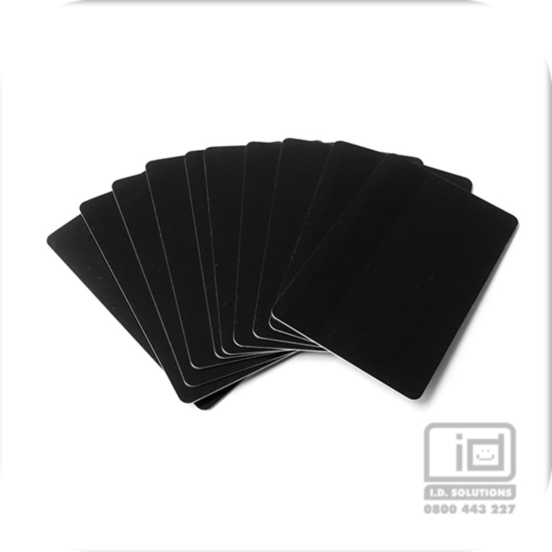 Blank cards Black image 0