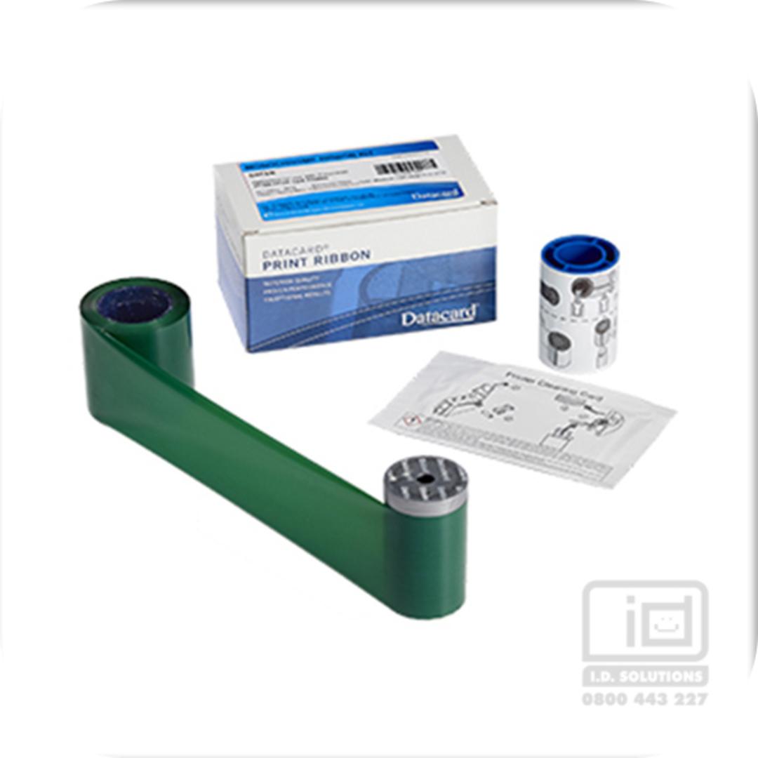 DataCard Ribbons Green 532000-008 CD/CP image 0