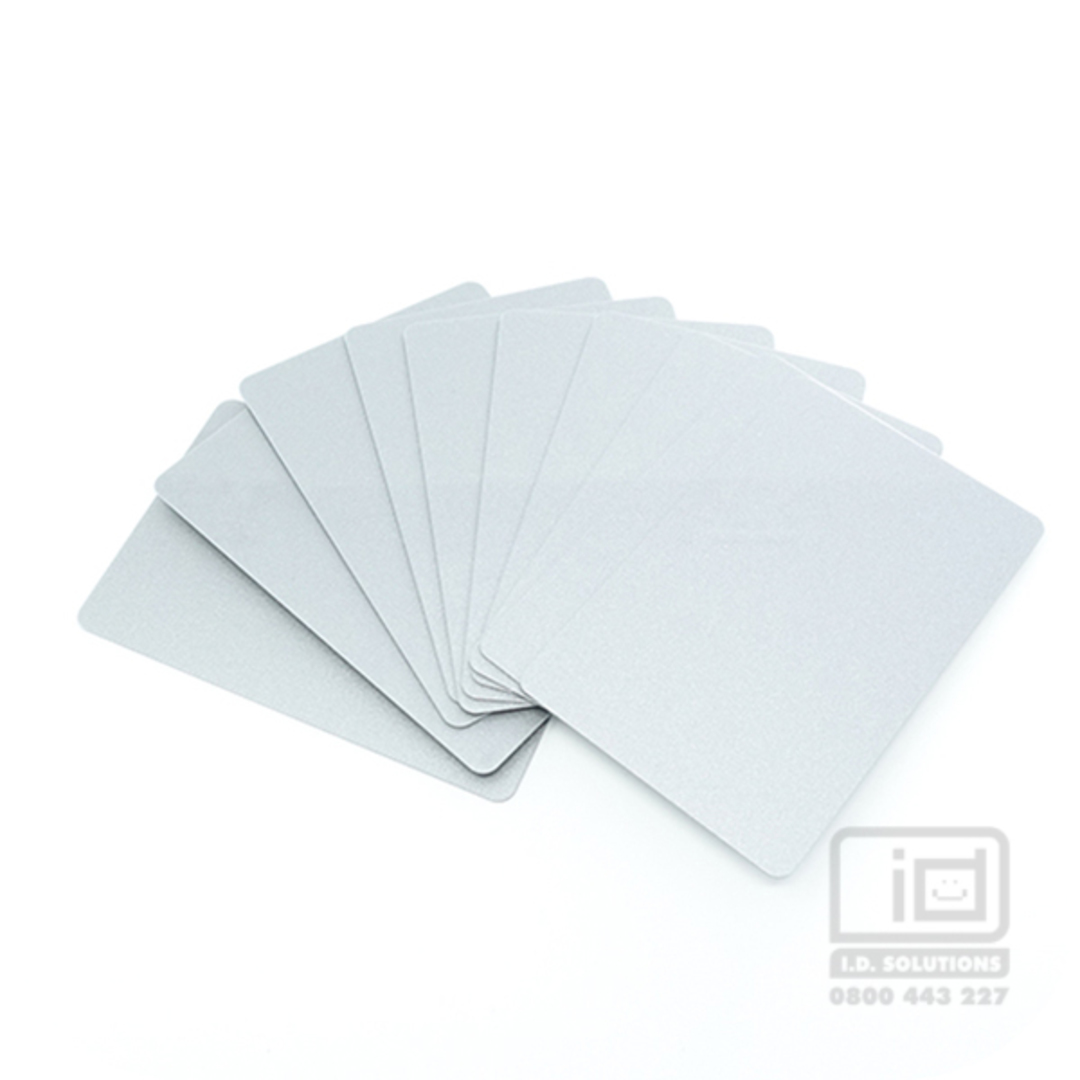 Blank Cards Silver image 0