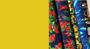 Kiwiana fabric