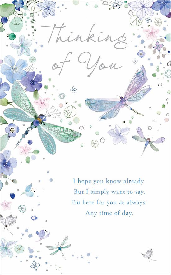 Thinking of youSympathy Card