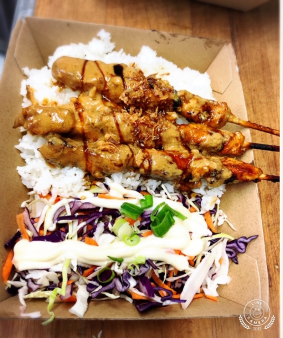 White Rice Meal - Charcoal Chicken and Slaw image 0