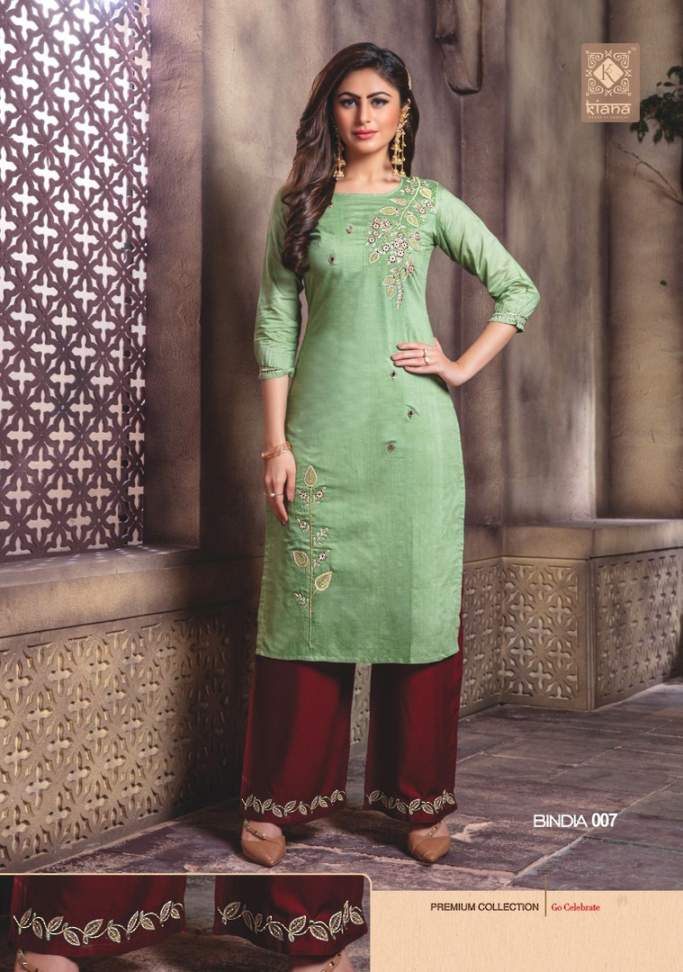 Kurti with Plazzo/Skirt image 7