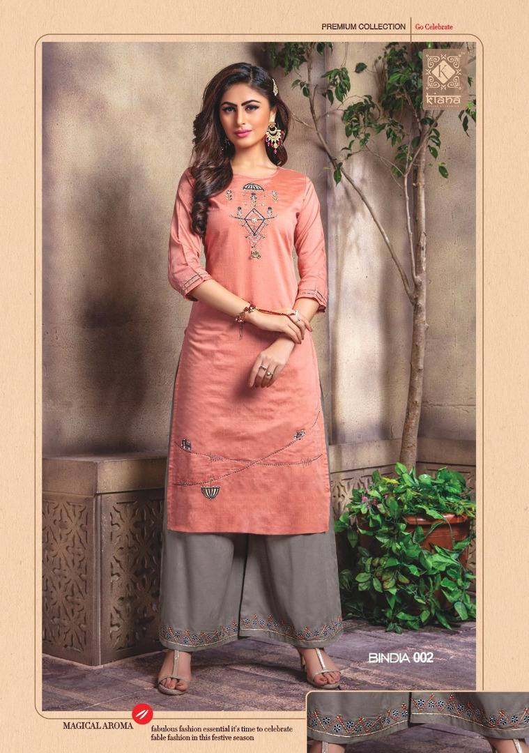 Kurti with Plazzo/Skirt image 2