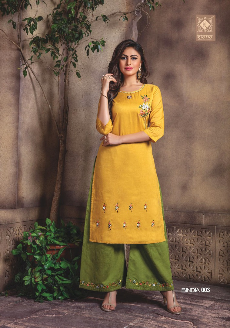 Kurti with Plazzo/Skirt image 3