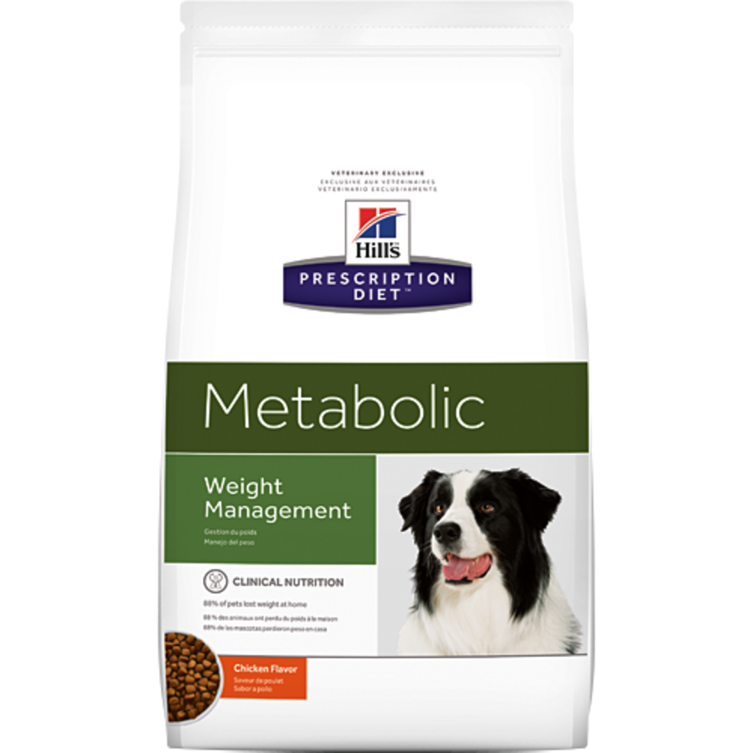 Hill's Prescription Diet Canine Metabolic for Dogs 5.5Kg image 0