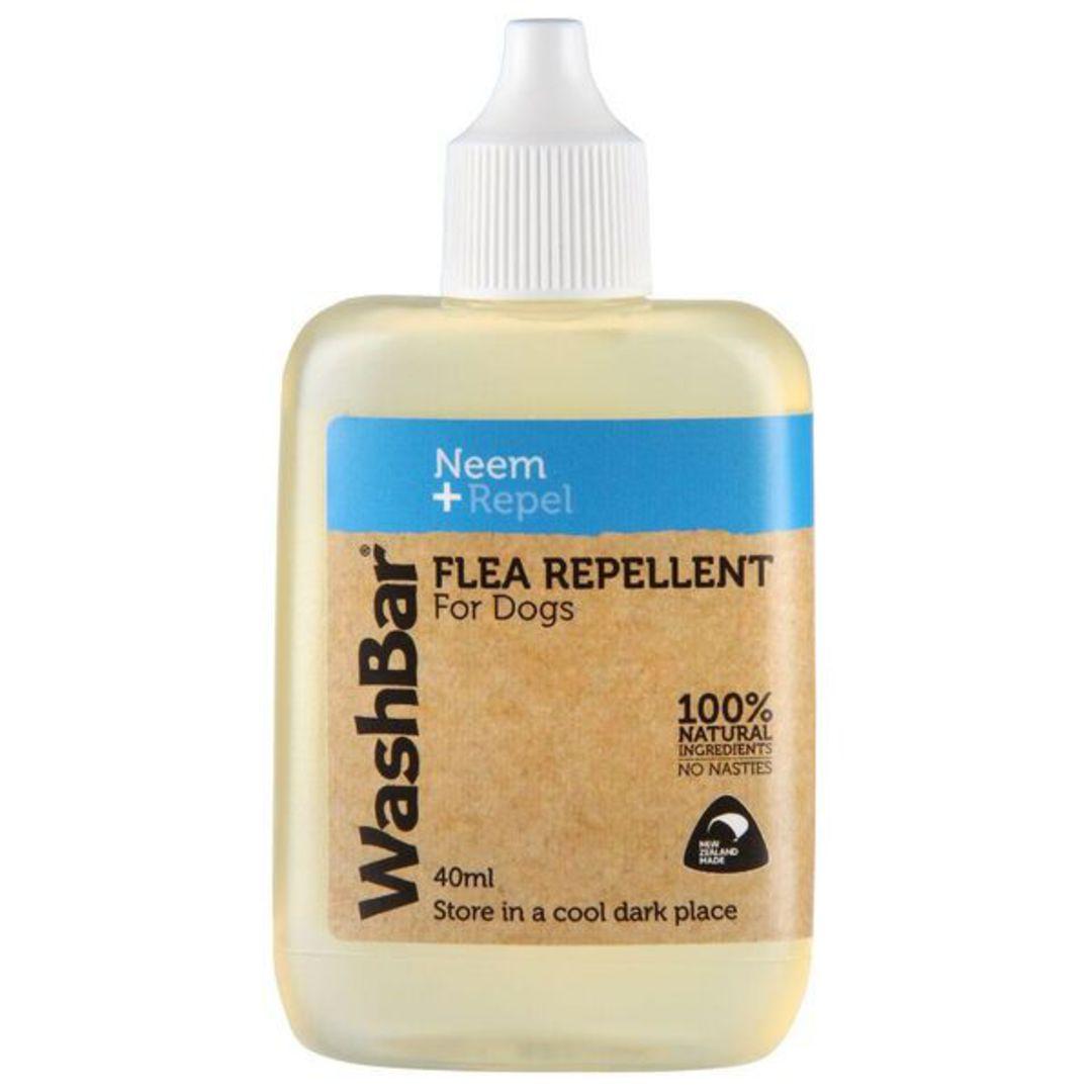 WashBar 100% Natural Flea Repellent 40ml image 0
