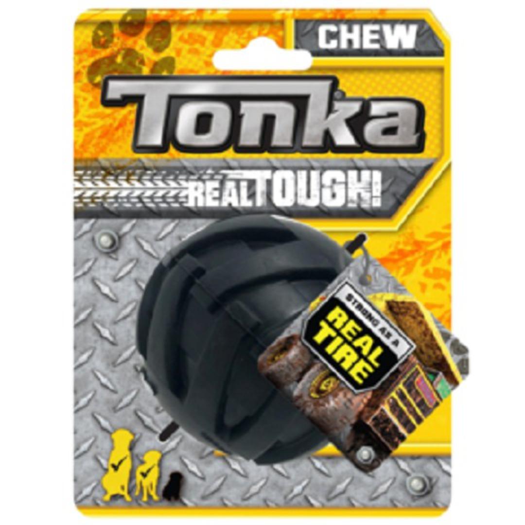 Tonka Mega Tread Ball Black 7.6cm image 0
