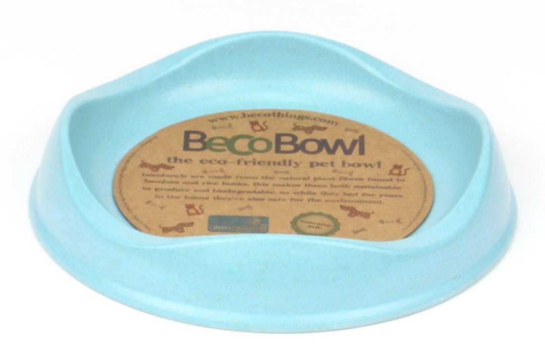 Beco Bowl Cat / 17cm 250ml / Blue image 0
