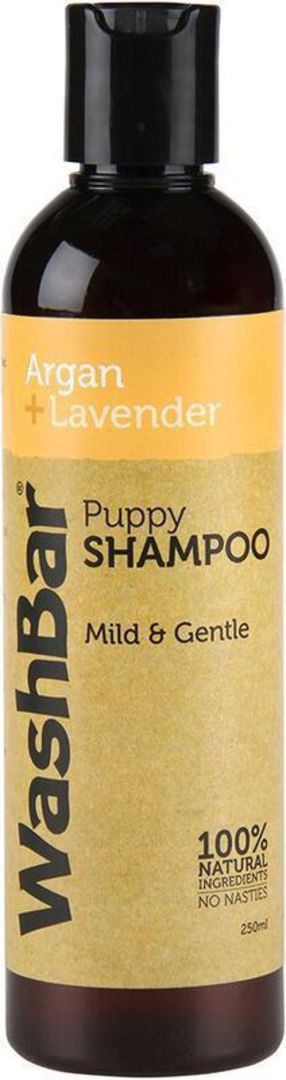 WashBar 100% Natural Puppy Shampoo - Argan and Lavender - 250ml image 0