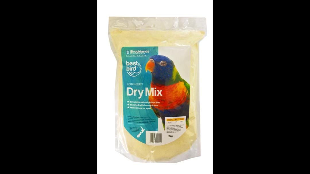 Best Bird Lorikeet Dry Mix - 2.0kg image 0