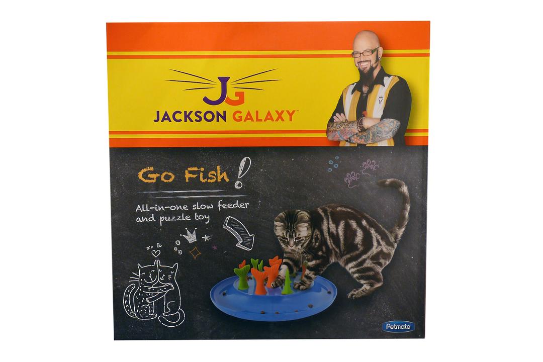 Go Fish! Jackson Galaxy Cat Toy image 0