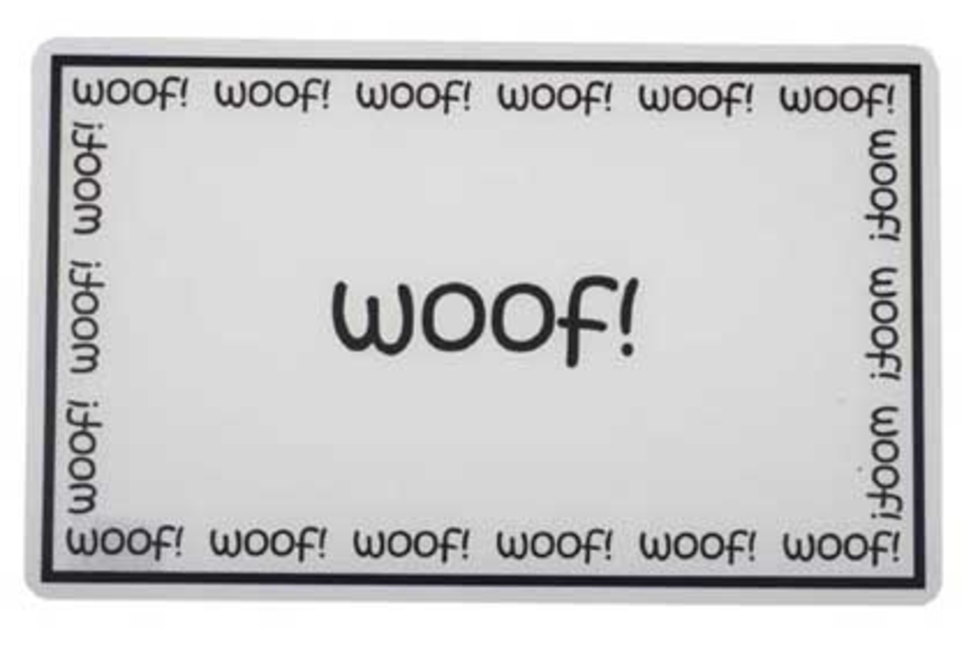 Feed Mats Woof Placemat image 0