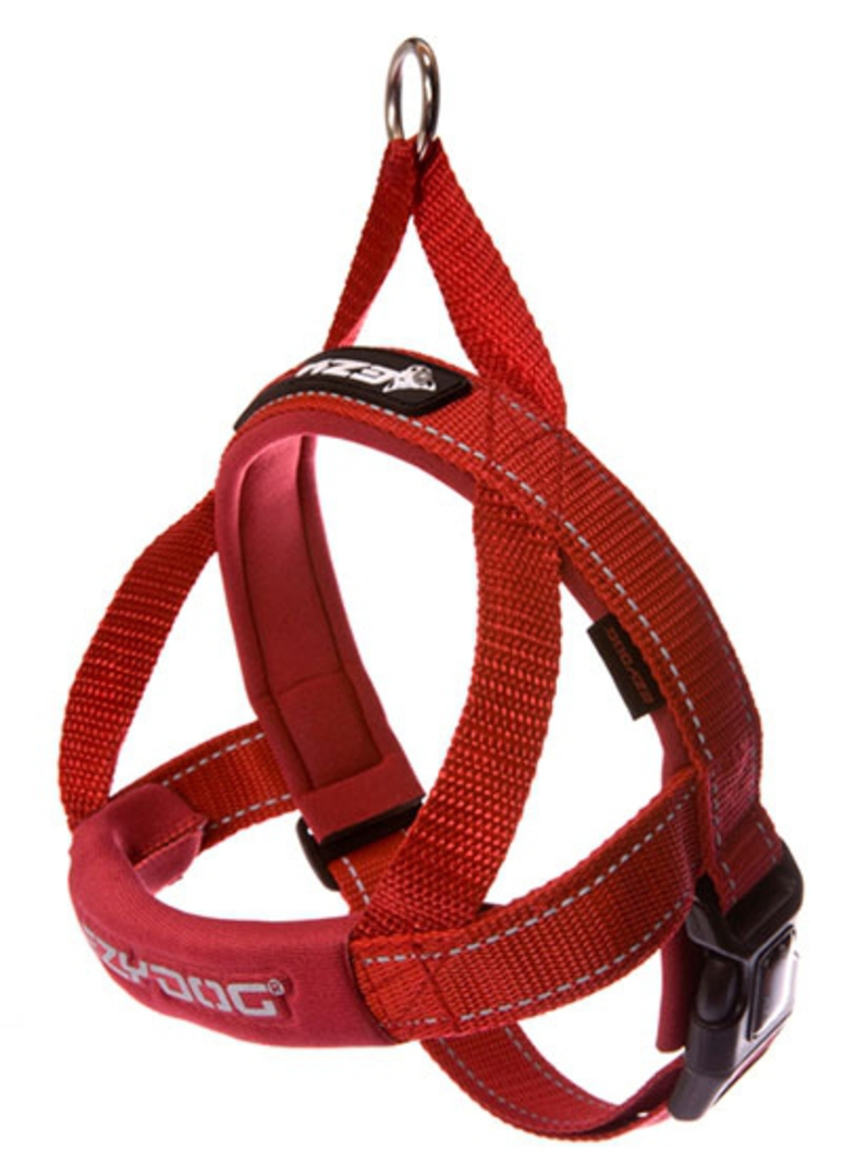 Ezydog Quick Fit Harness / Red / XS image 0