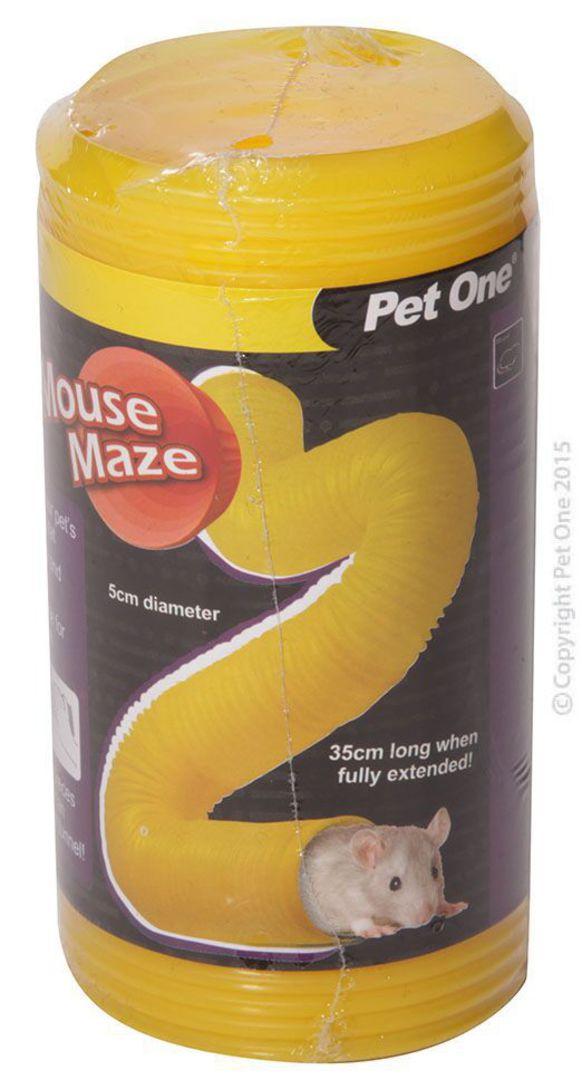 Pet One Tunnel Mouse Maze 5cm(D)x35cm(L) image 0