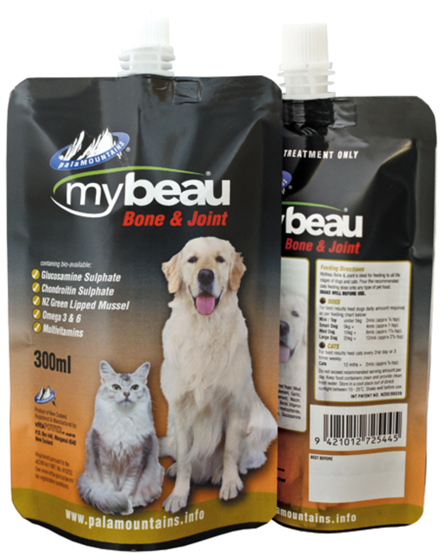 Mybeau Bone & Joint in Cats & Dogs 150ml Pouch image 0