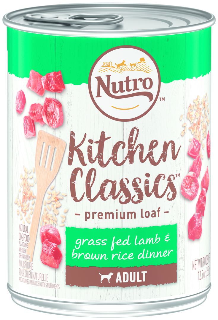 Nutro Adult Dog Grass Fed Lamb & Brown Rice Dinner 355g image 0