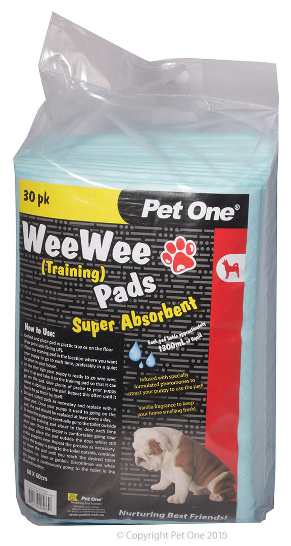 Pet One Wee Wee Training Pads 30pk image 0