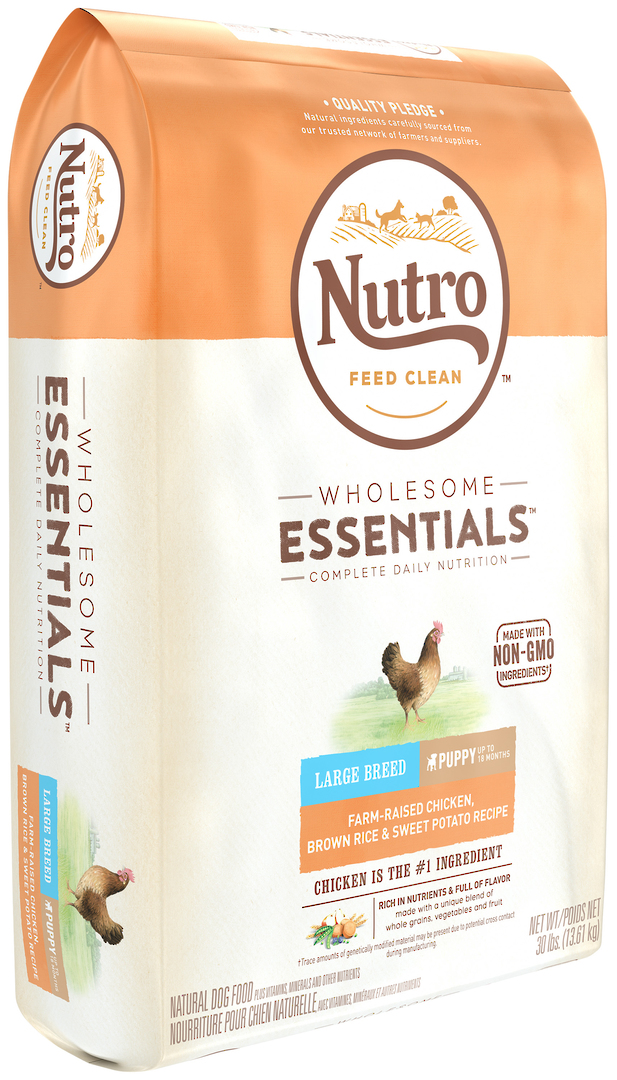 Nutro Wholesome Essential Large Breed Puppy - Chicken, Whole Brown Rice & Sweet Potato Recipe - 13.61kg image 0