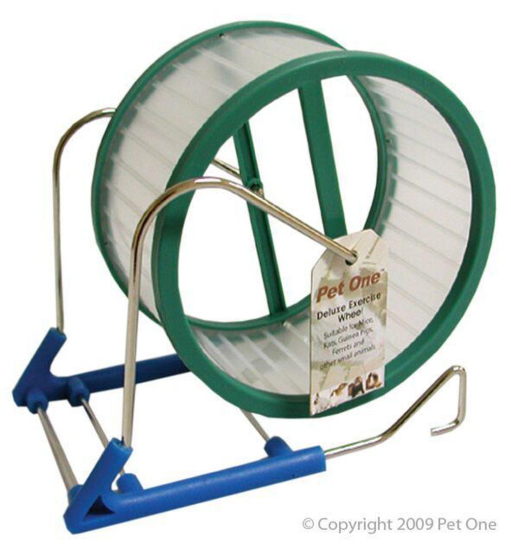 Pet One Mouse Wheel Plastic 15cm image 0