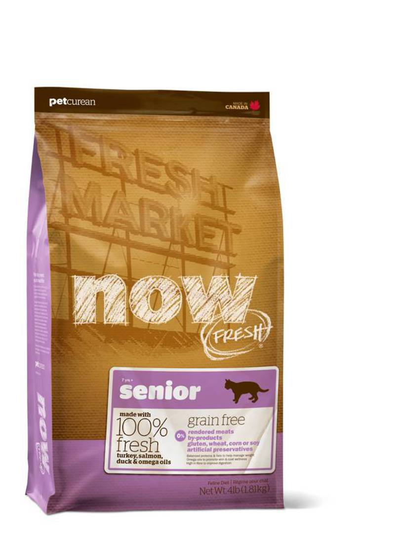 Now Grain Free Senior Cat Food 1.81kg image 0