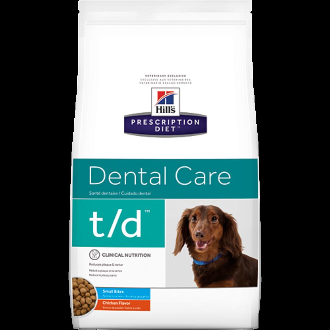 Hill's Prescription Diet Canine Dental Care t/d for Dogs 2.25Kg image 0