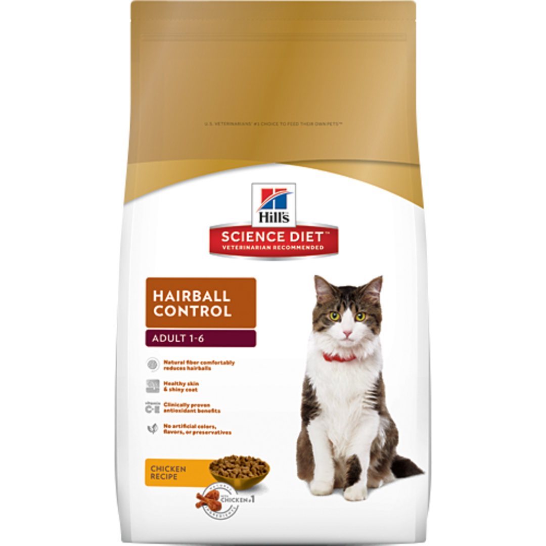 Hill's Science Diet Hairball Control for Adult Cat 4Kg image 0