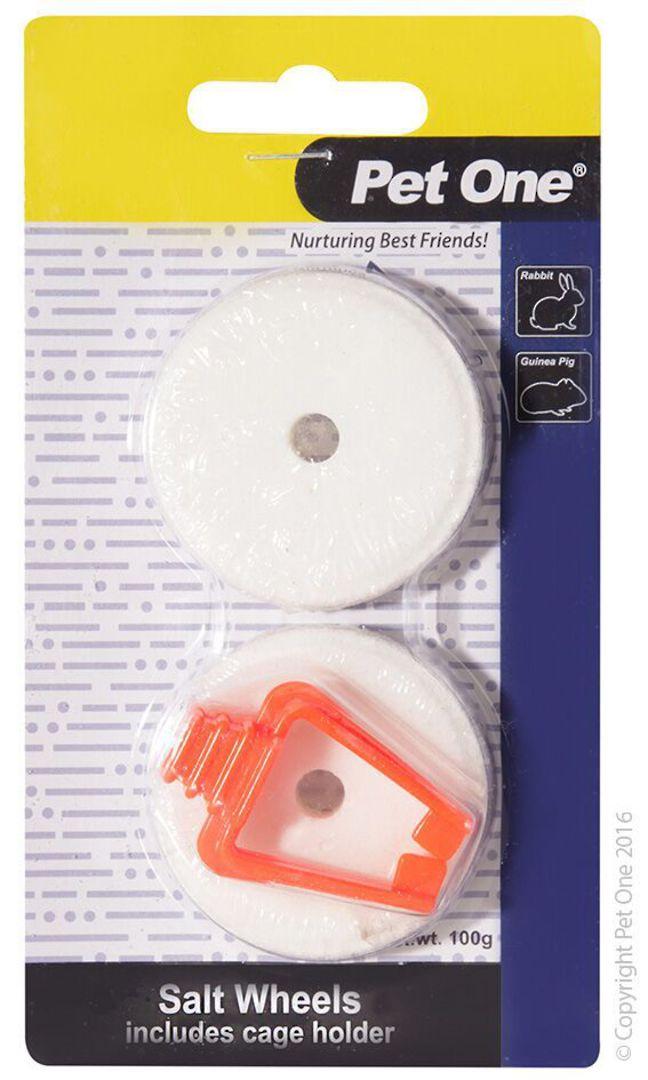 Pet One Salt Lick Wheel with Clip 2pk image 0