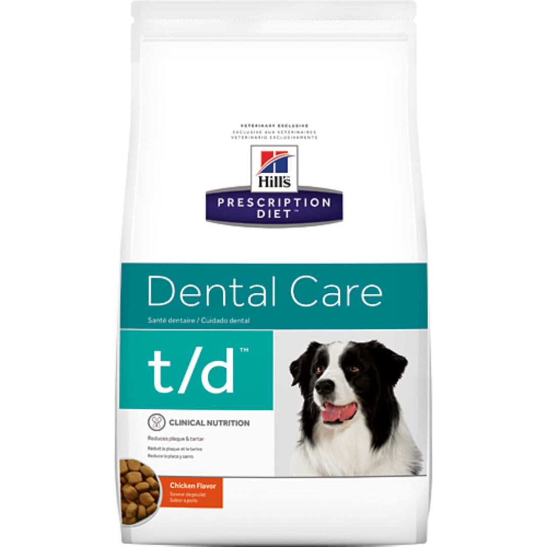 Hill's Prescription Diet Canine Dental Care t/d for Dogs 5.5Kg image 0