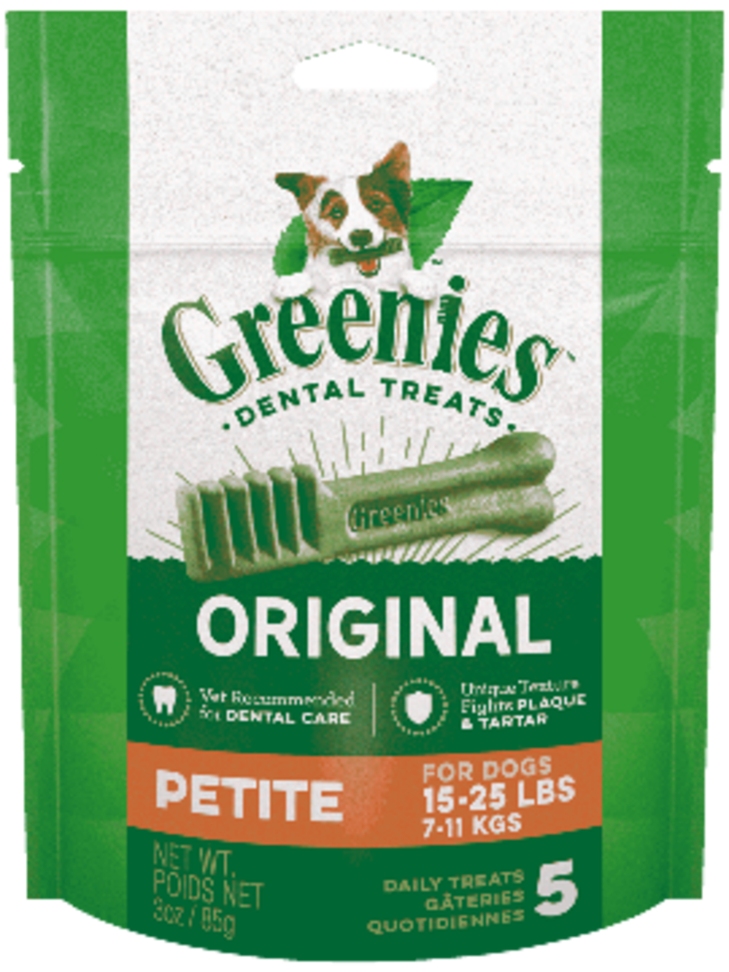Canine Greenies™ Original Petite Dental Treats 170g / 10 Dental Chews image 0