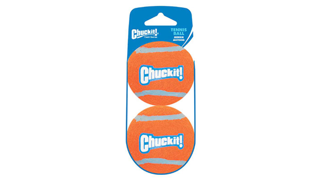 CHUCKIT! Tennis Ball Small - 2 pack image 0