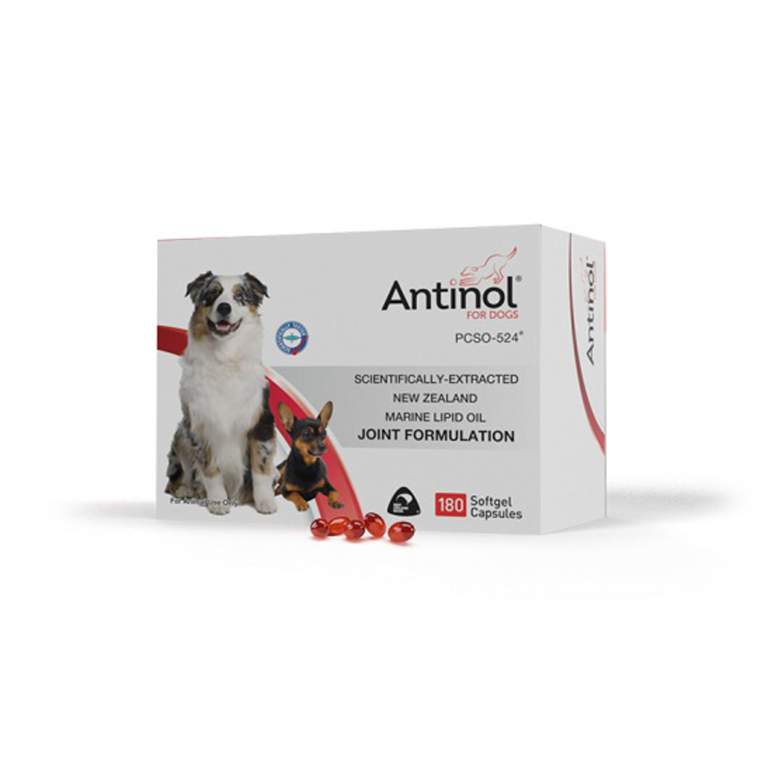 Antinol® for Dogs - Joint formulation gel capsules 180 cap image 0