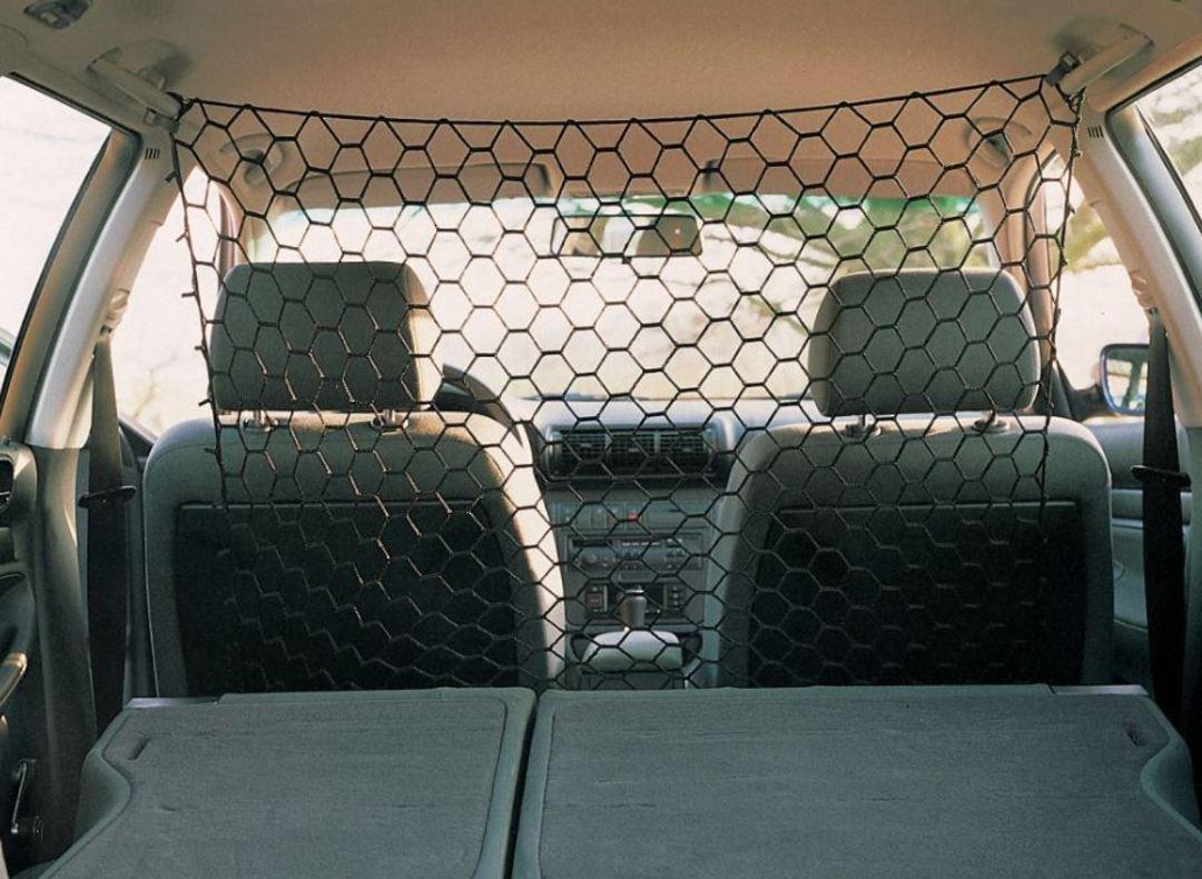Car Safety Net Black Approx 1x1m image 1