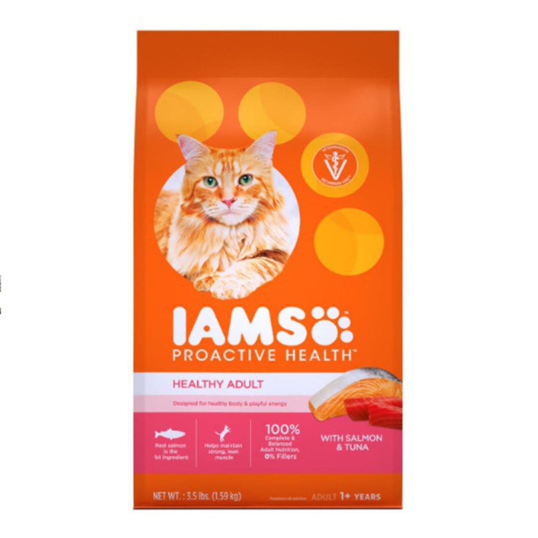 IAMS Cat Adult Salmon & Tuna 3.18kg image 0
