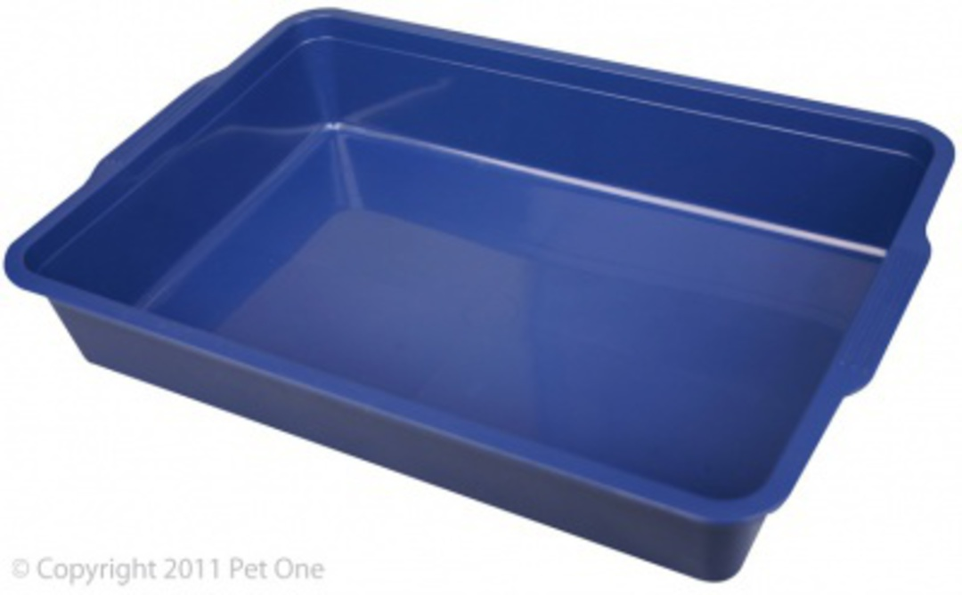 Pet One Cat Litter Tray Small 37x25x7cm image 0