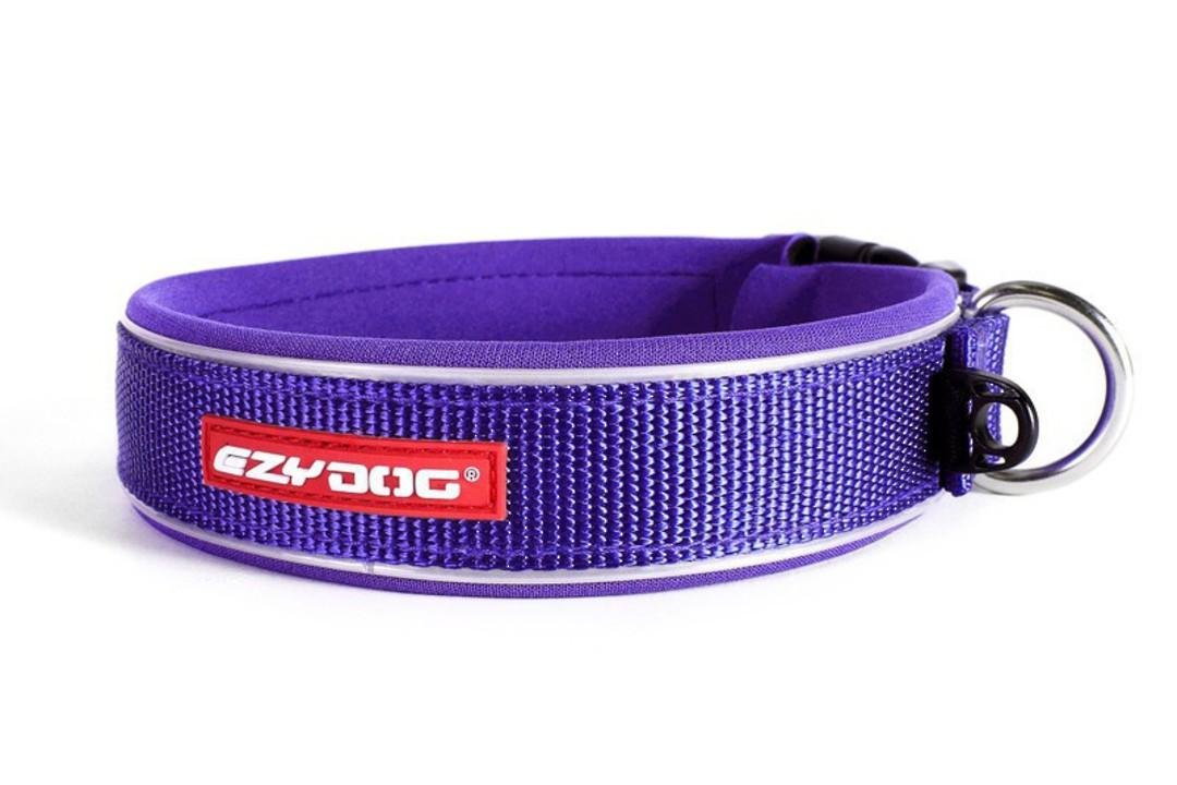 Ezydog Collar Neo Classic XL Purple 54-61cm image 0