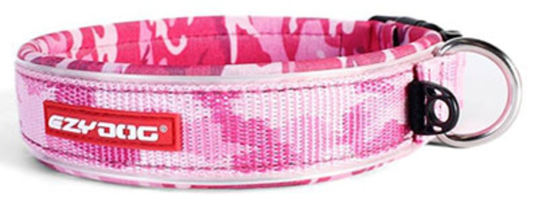 Ezydog Collar Neo Classic S Pink Camo 35-39cm image 0