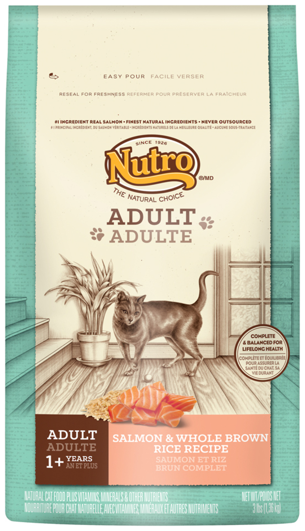 Adult Cat Wholesome Essentials 1.36kg (Salmon and Whole Brown Rice Formula) image 0