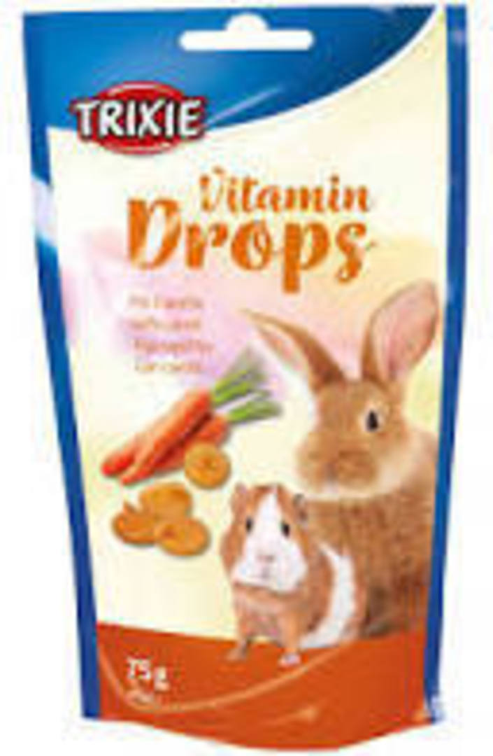 Trixie Vitamin Drops - Carrot 75g image 0