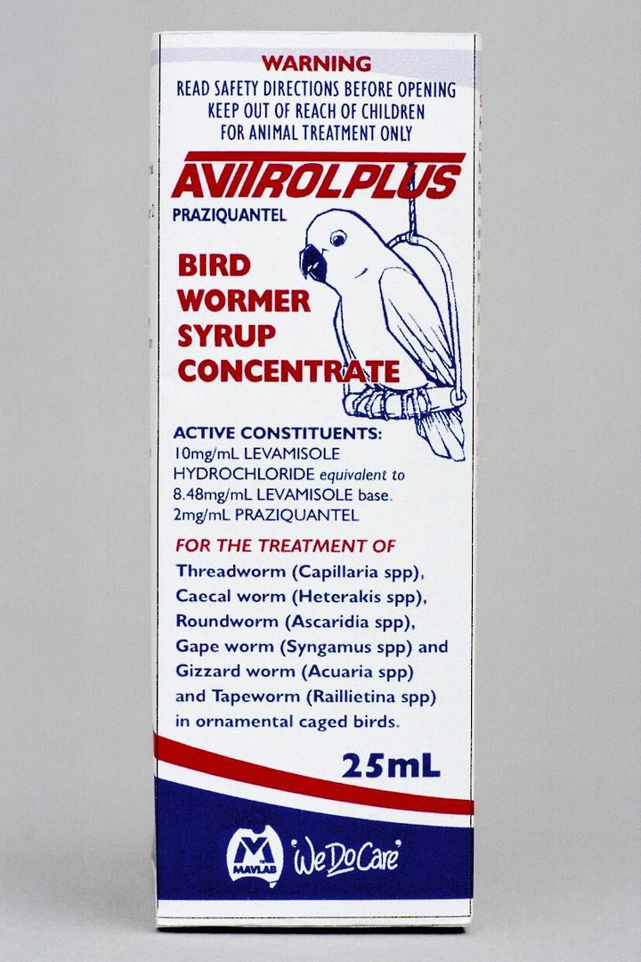 Fido's Avitrol Plus Bird Wormer 25ml image 0