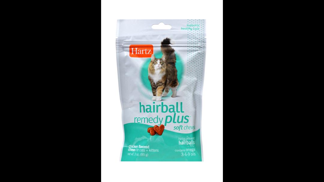 Hartz Hairball Remedy Plus Chews - 85g image 0