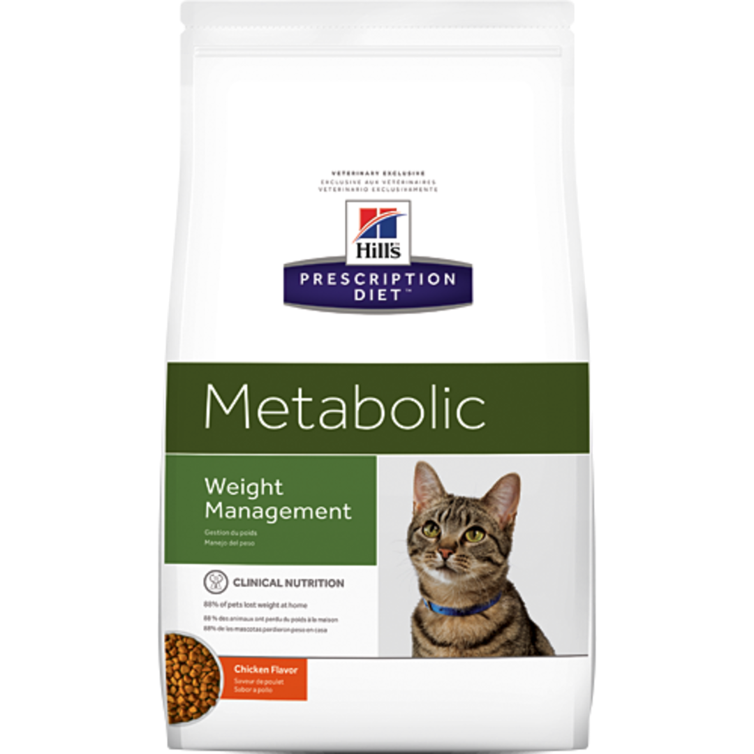 Hill's Prescription Diet Feline Metabolic for Cats 3.85Kg image 0
