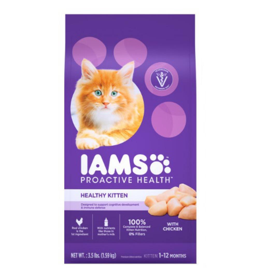 IAMS Healthy Kitten Chicken 3.18kg image 0