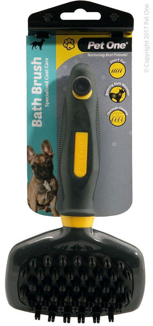 Pet One Bath Brush (L) image 0