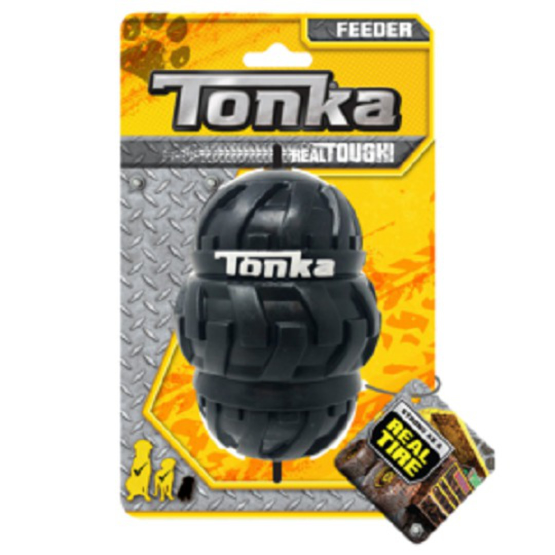 Tonka Tri Stack Tread Feeder Black 12.7cm image 0