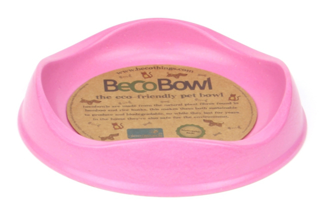 Beco Bowl Cat / 17cm 250ml / Pink image 0
