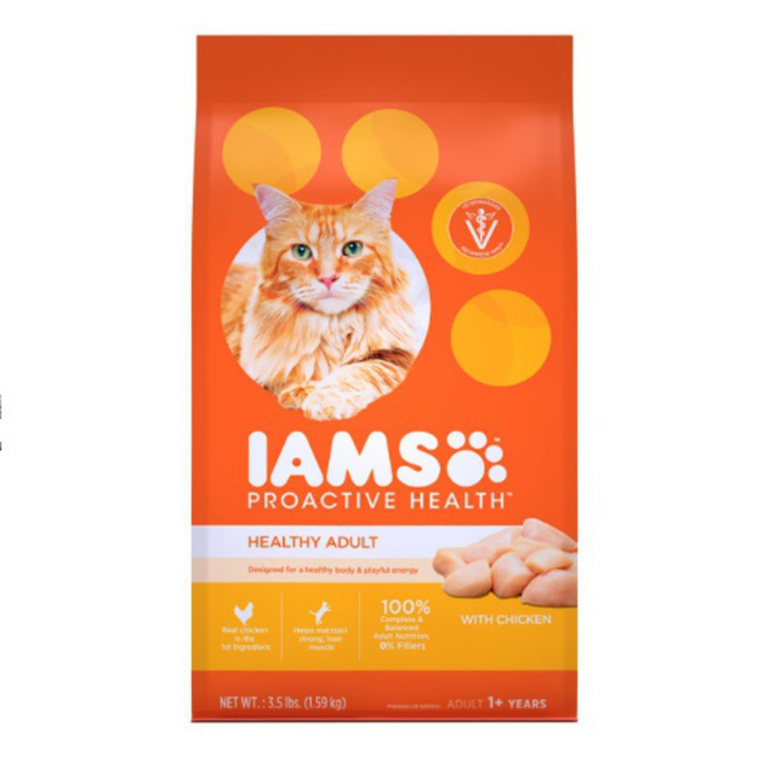 IAMS Cat Adult Chicken 3.18kg image 0