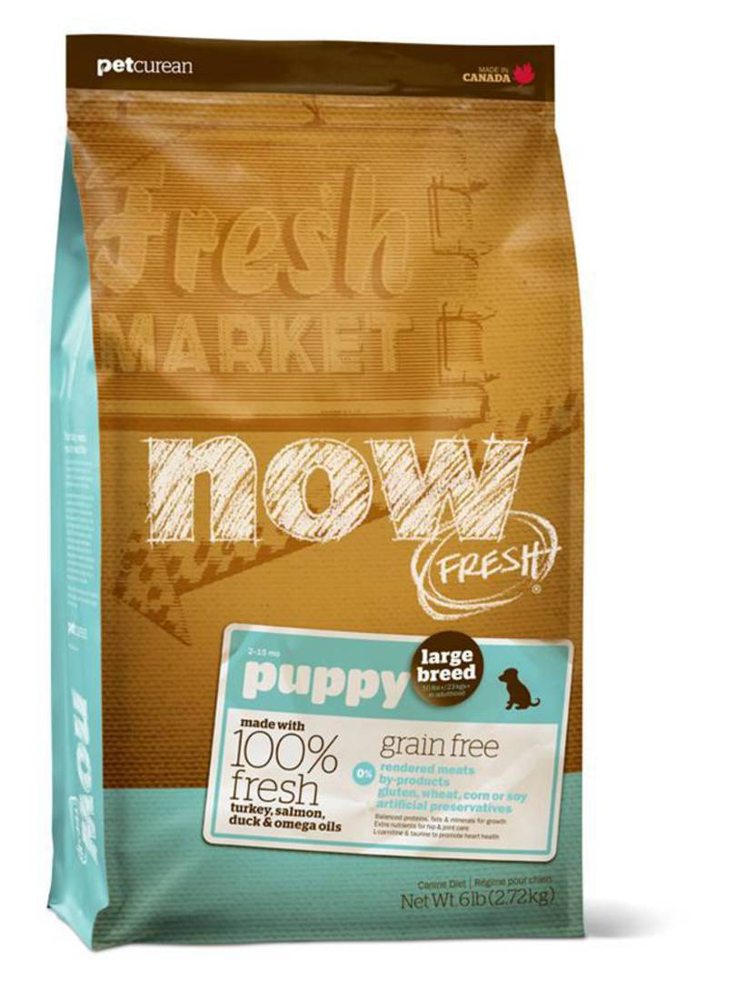 Now Grain Free Large Breed Puppy Recipe 230g image 0