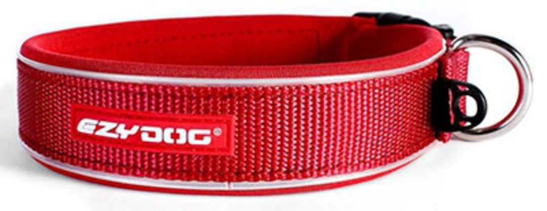 Ezydog Collar Neo Classic M Red 40-45cm image 0